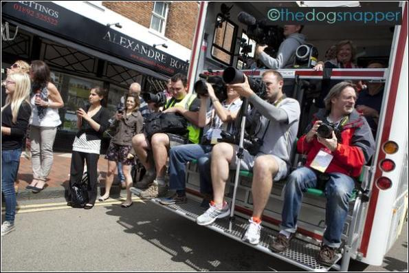 Olympic Torch Relay in Tunbridge Wells